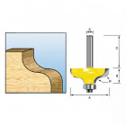 Фреза кромочная фасонная Makita R3.97 27х11.9х8x32х2Т (D-11542)